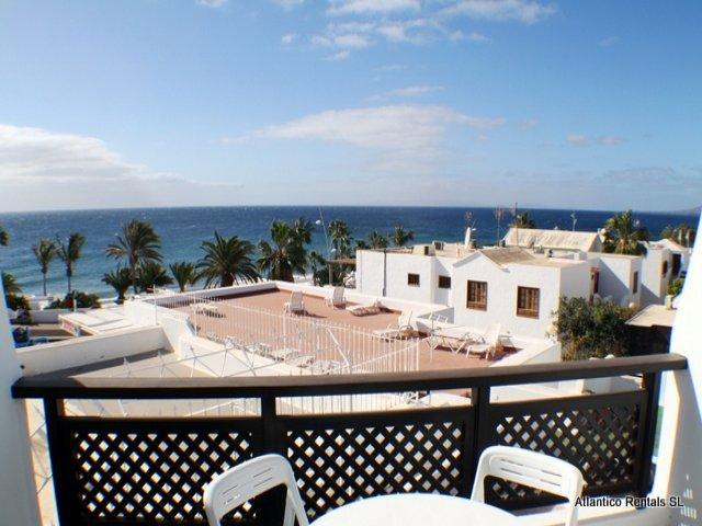 View from the balcony - Los Arcos , Puerto del Carmen, Lanzarote